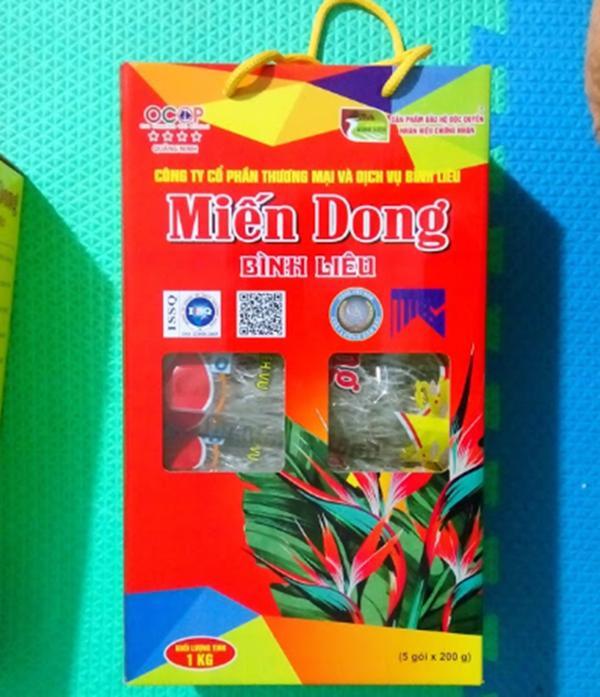 mein dong binh lieu 4364 600x697 - Miến dong Bình Liêu 1kg (Công ty CP Thương mại & Dịch vụ Bình Liêu)