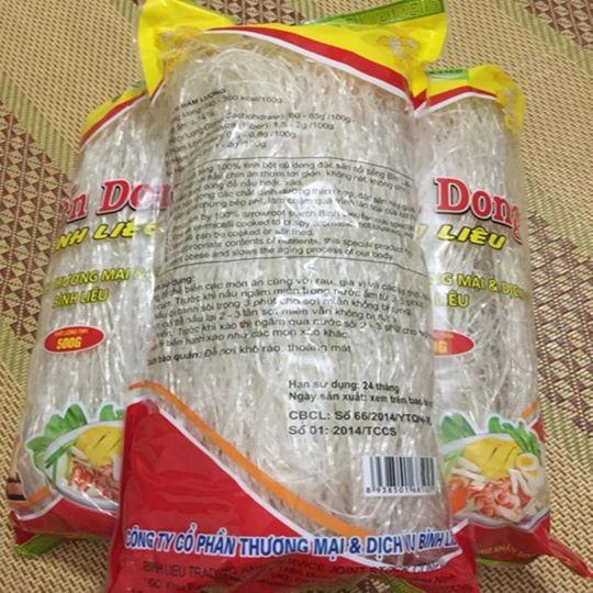mien dong binh lieu 09324556657 - Miến dong Bình Liêu 1kg (Công ty CP Thương mại & Dịch vụ Bình Liêu)