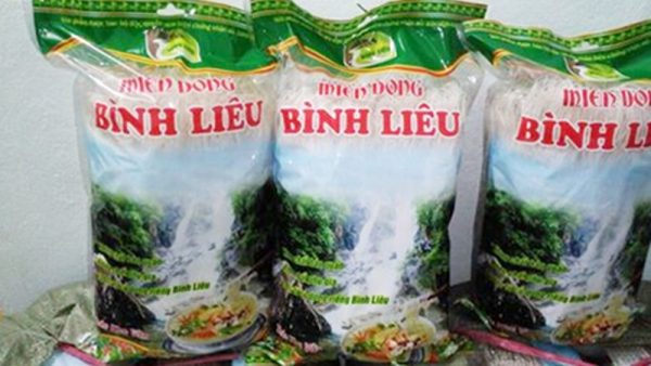 mien dong binh lieu 2342356 600x338 - Miến dong Bình Liêu 1kg (Cơ sở sản xuất Trần Văn Khàu)